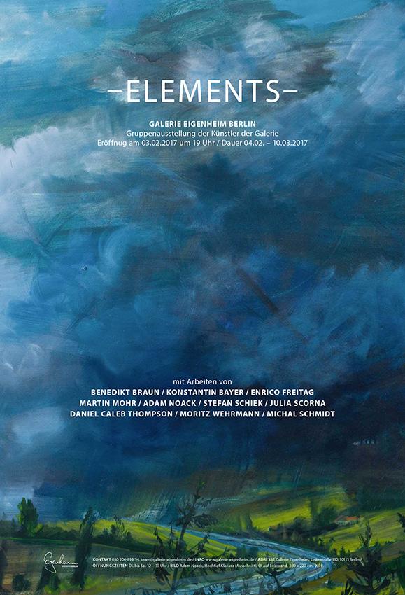 Elements gruppenausstellung der k nstler der galerie for Eigenheim berlin